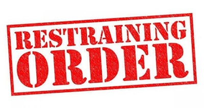 restraining order tavares